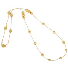 Ioaku Berry Iconic Necklace Alloy Gold