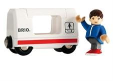 Matkustajavaunu ja poika, Brio-puurautatie