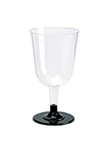 Plastglass vin løs fot 24 cl (12)