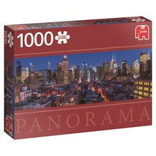 New York, Panorama pussel 1000 bitar, Jumbo