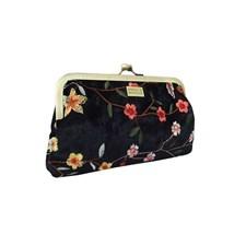 Clutch mini Velvet Fiore Frame Black 0122616aff356
