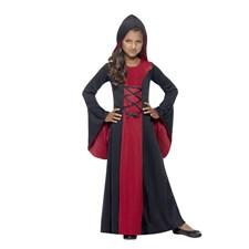 Vampyrdräkt Med Huva Maskeraddräkt Barn (MEdium)