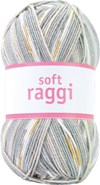 Järbo Soft Raggi Garn Akrylmix 100g Moonlight Print (31218)