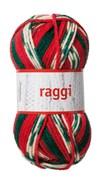Raggi 100g Vihreä, punaisenvalkoinen (15129)