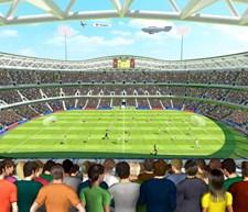 Fotboll-Väggtapet, Walltastic