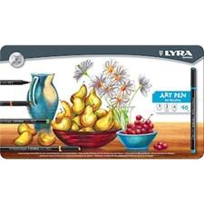 Tusj Art Pen Hi-Quality 40-pack Lyra