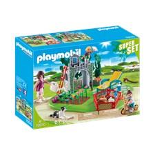 SuperSet Familjeträdgård, Playmobil (70010)