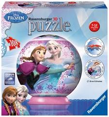 3D-palapelipallo Disney Frozen, 108 palaa, Ravensburger