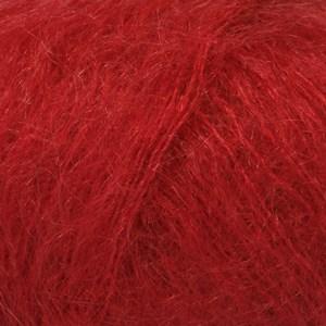 Drops Kid-Silk Garn Mohair Silke 25 g rød 14