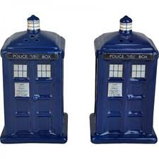 Doctor Who Salt- og pepperbøsse Tardis