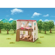 Hytte, Red Roof Cosy Cottage Starter Home, Sylvanian Families
