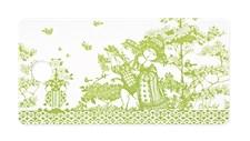 Serveringsbrett, Rosegarden, 20 x 40 cm, Grønn, Bjørn Wiinblad