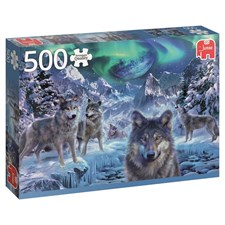 Winter Wolves, Pussel 500 bitar, Jumbo