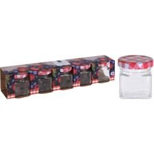 Förvaringsburk Glas 5-pack