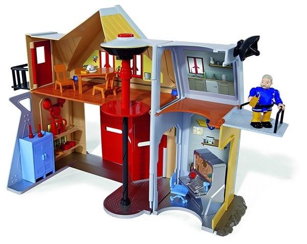 Brandstation Med Figurer, Brandman Sam