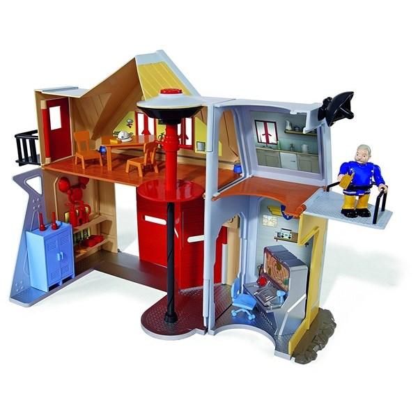 Brandstation med figurer  Brandman Sam - leksaksbilar & fordon