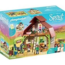 Ladugård med Lucky, Pru och Abigail, Playmobil (70118)
