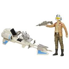 Poe Dameron, Actionfigur & fordonsset, Star Wars VII