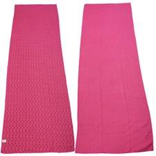Yogafilt med antislip-mönster,  Rosa, 183 X 61 cm