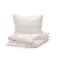 Sköna Hem Gentle Brim Påslakanset med i Tvättad bomullspercale 150x200 cm Pink