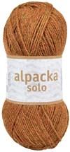 Alpacka Solo Ullgarn 50g Ockra brun (29124)