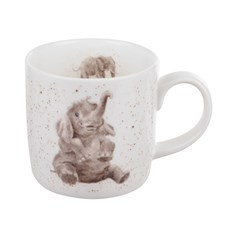 Royal Worcester WD Elefant Mugg 31 cl Vit