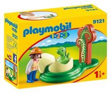Flicka med Dinosaurieägg, Playmobil 1.2.3 (9121)