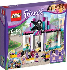 Heartlakes frisörsalong, Lego Friends (41093)