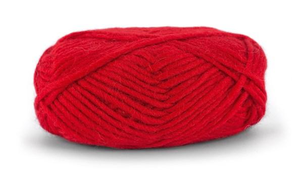 Knit At Home Felting Wool Lanka Villalangat 50 g punainen 812
