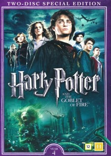 Harry Potter 4: Den Flammande Bägaren + Documentary (2-disc)