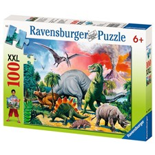 Dinosaurier, 100 bitar, Ravensburger
