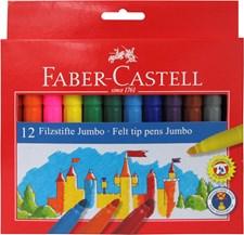 Tuschpennor Jumbo Faber-Castell 12-pack