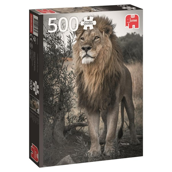 Puslespill, Proud Lion, 500 brikker, Jumbo