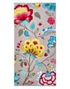 Pip Studio Floral Fantasy Pyyhe 100% Puuvilla 70x140 cm Khaki