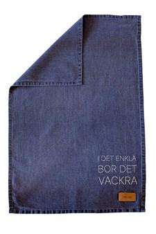 ERNST Kökshandduk I Det Enkla 47x70 cm Blå