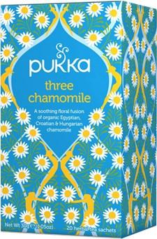 Pukka Te Three Chamomile Tepåsar 20 st Ekologisk