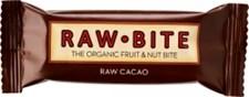 Raw Bite Raw Frukt- & Nötbar Choklad 50 g Ekologisk
