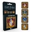 Harry Potter Lasinaluset 4-pakkaus Oppilasasuntola
