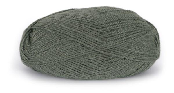 Du store Alpakka Tynn 50 g Mørk Grågrønn 196