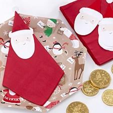 Servetit Joulupukki 12-pakkaus