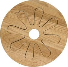 Sagaform Oval Oak Grytunderlägg 2-delar