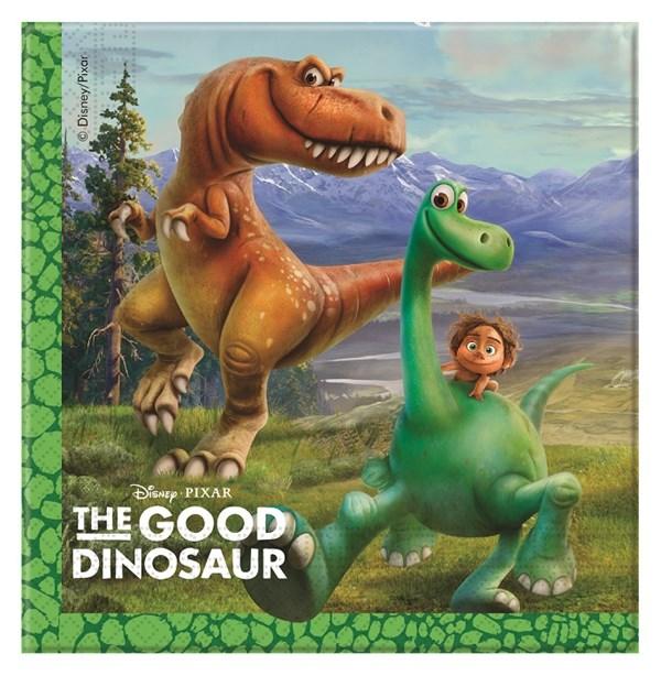 Den Gode Dinosaurien Servetter, 20 st