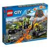 Vulkan, Forskningsbas, LEGO City Volcano Explorers (60124)