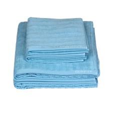 GANT Home Line Towel 100% Bomull 50x70 cm Crystal Blue