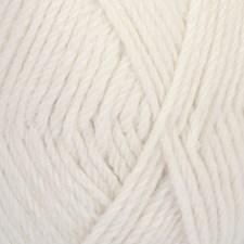 Drops Lima Uni Colour Garn Ullmix 50g White 1101