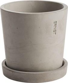 ERNST Kruka 13x12 cm Ljusgrå