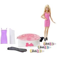 Designersett med dukke, Barbie