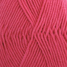Drops Merino Extra Fine Uni Colour Garn Ullgarn 50g Dark Rose 32