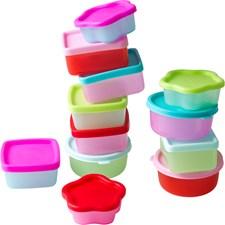 Matförvaringslådor, 12-pack, Rice
