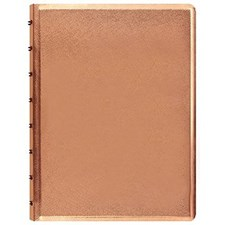 Filofax Notebook A5 Saffiano Rose Gold